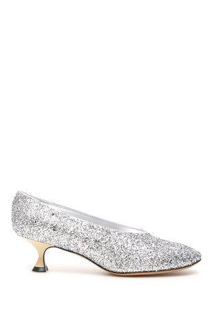 Maison Margiela Embellished Kitten Pumps