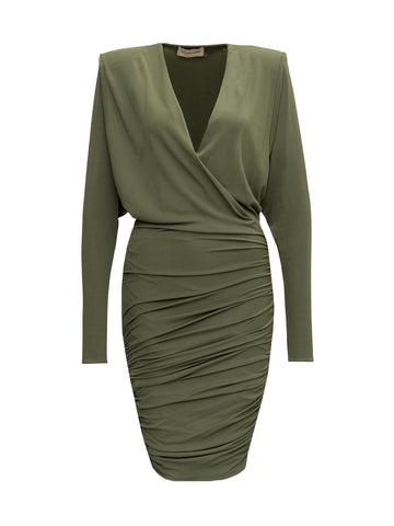 Alexandre Vauthier Draped Mini Dress