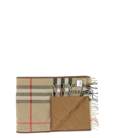 Burberry Giant Check Padded Scarf