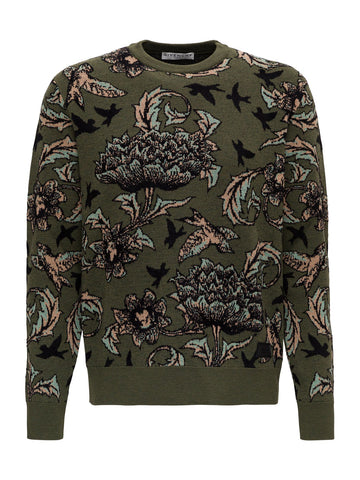 Givenchy Floral Jacquard Sweater