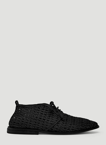 Marsèll Goodpiatto Woven Lace-Up Shoes