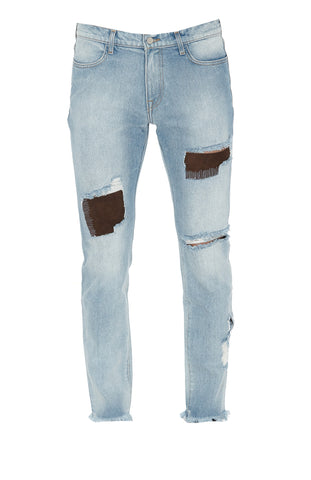 424 Distressed Slim Fit Jeans