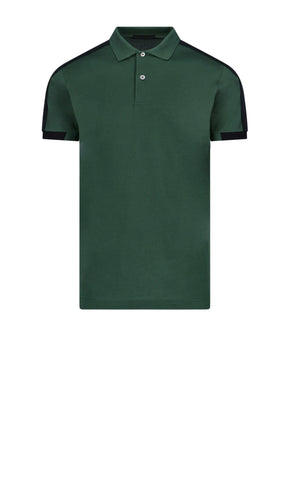Prada Logo Band Polo Shirt