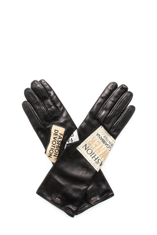 Dolce & Gabbana Logo Patch Gloves