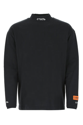 Heron Preston Mock Neck Long-Sleeves Shirt