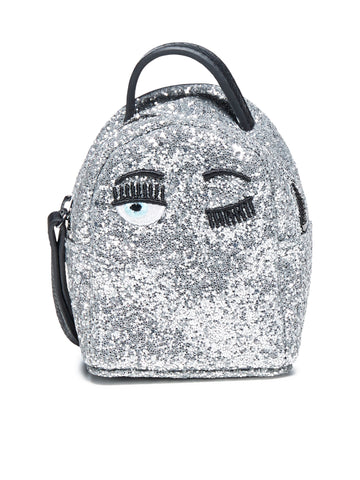 Chiara Ferragni Glittered Mini Backpack