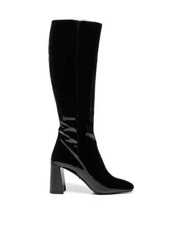 Prada Block Heel Knee-High Boots