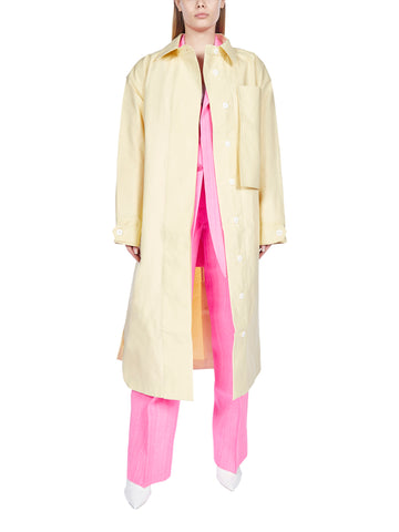 Jacquemus Belted Long Coat