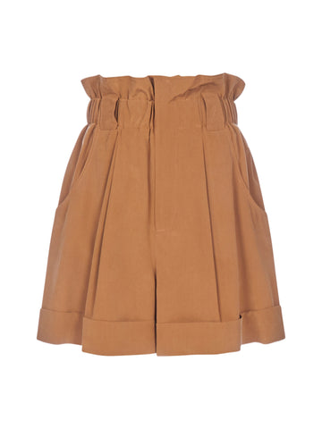 Fendi High-Waisted Shorts