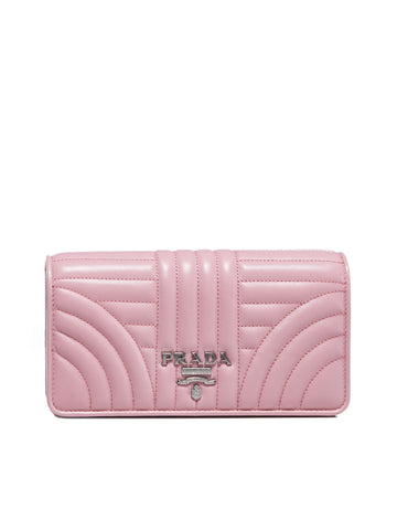 Prada Diagramme Clutch Bag