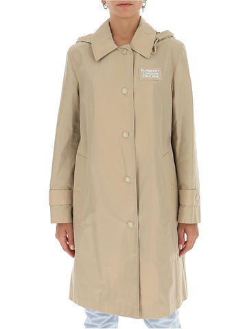 Burberry Detachable Hood Car Coat