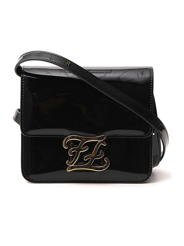 Fendi FF Karligraphy Crossbody Bag