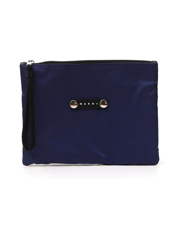 Marni Logo Plaque Clutch Bag