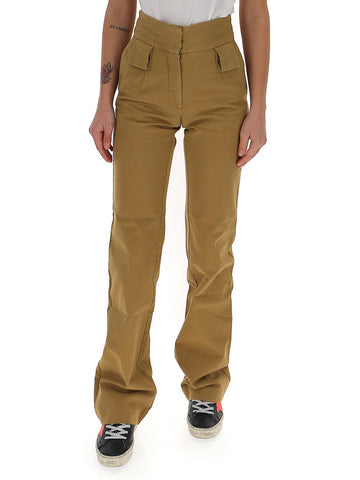 Palm Angels High-Waist Flared Pants