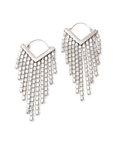 Isabel Marant Crystal Fringed Earrings
