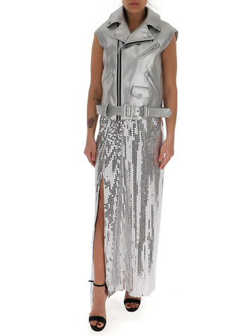Junya Watanabe Sequin Embellished Panelled Maxi Dress