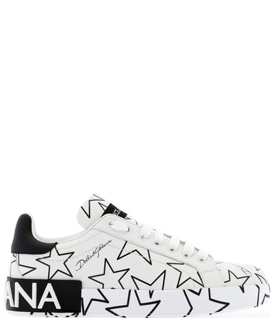 Dolce & Gabbana Star Printed Sneakers