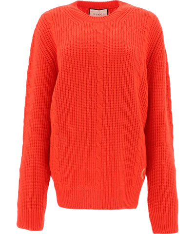 Gucci GG Cable Knit Jumper