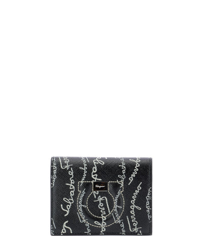 Salvatore Ferragamo All Over Logo Wallet