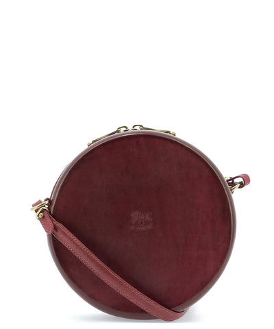 Il Bisonte Round Logo Crossbody Bag