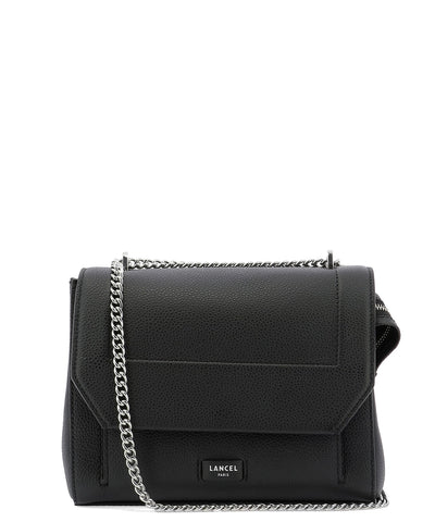 Lancel Ninon Foldover Logo Shoulder Bag