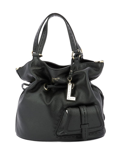Lancel Drawstring Bucket Bag