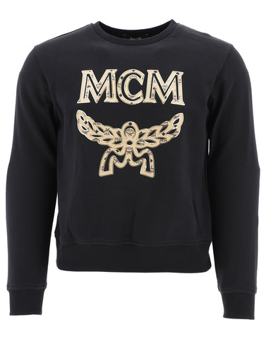 MCM Logo Embroidered Sweater