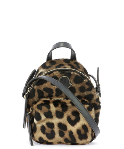 Moncler Kilia Small Quilted Animalier Crossbody Bag