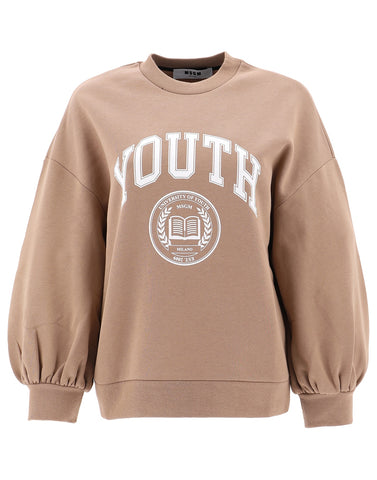 MSGM Youth Printed Sweater