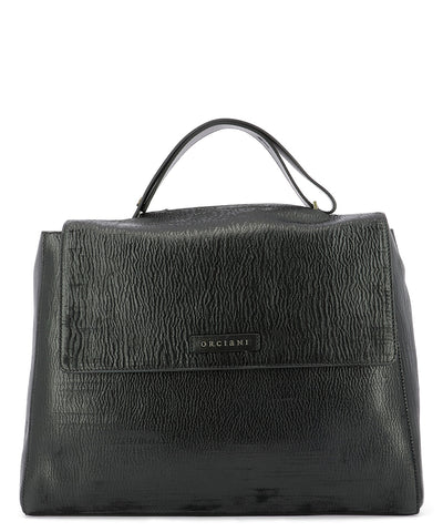 Orciani Sveva Cutting Large Shoulder Bag