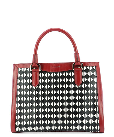 Serapian Small Lorelei Mosaico Tote Bag