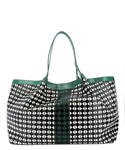 Serapian Secret Mosaico Tote Bag