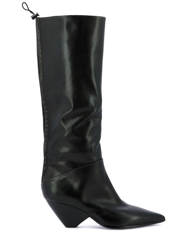 Strategia Mid-Calf Pointed Toe Boots