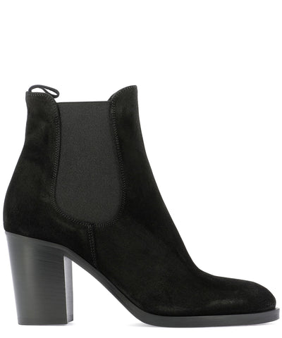 Strategia Block Heel Ankle Boots