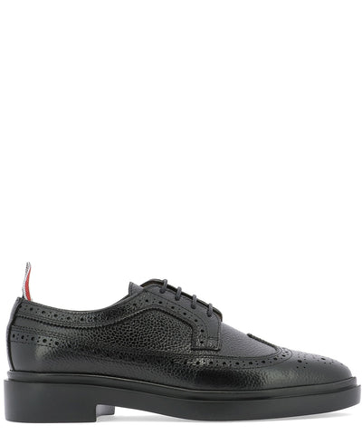 Thom Browne Perforated Detail Lace-Up Shoes