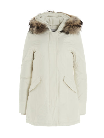 Woolrich Fur Trim Hooded Arctic Parka