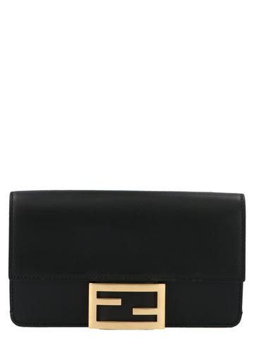 Fendi Foldover Crossbody Bag