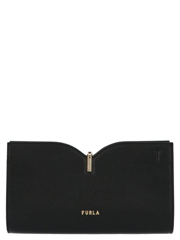 Furla Ribbon Clutch Bag