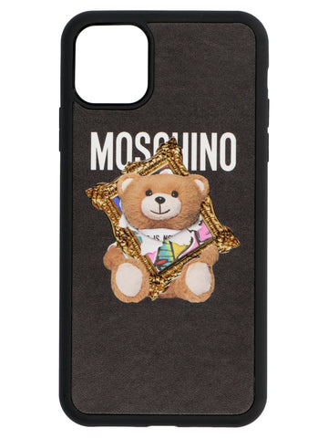 Moschino Teddy Frame iPhone 11 Pro Max Case