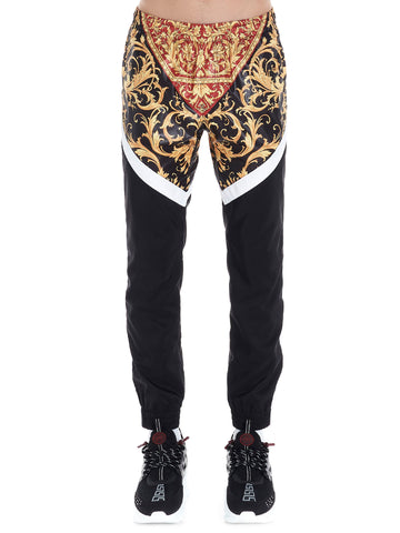 Versace Baroque Panelled Track Pants
