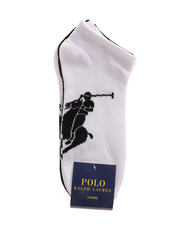 Polo Ralph Lauren Logo Intarsia Triple-Pack Socks