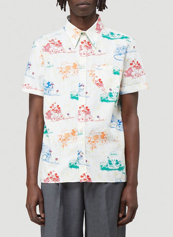 Gucci X Disney Mickey Mouse Shirt