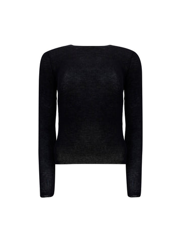 Saint Laurent Rib Knit Jumper