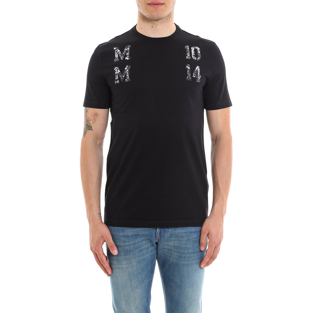 Maison Margiela MM Print Cotton T-Shirt