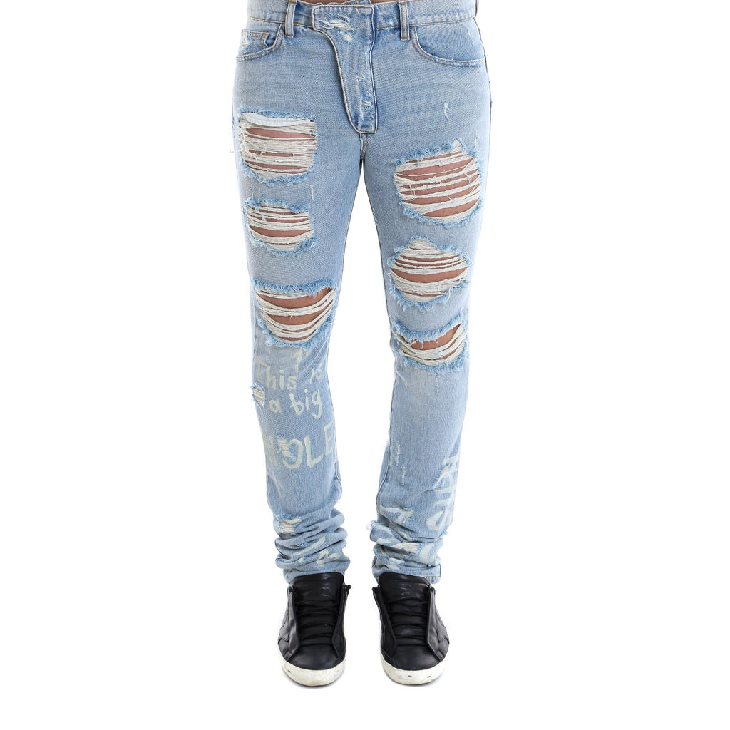 Ih Nom Uh Nit Distressed Slim Fit Jeans