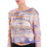 Faith Connexion Striped Crop Jumper