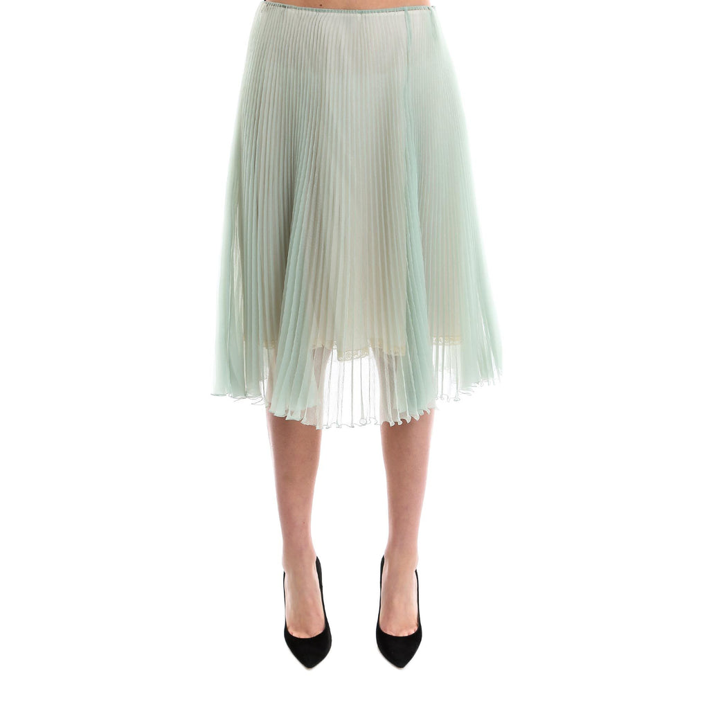 Prada Pliseé Pleated Skirt