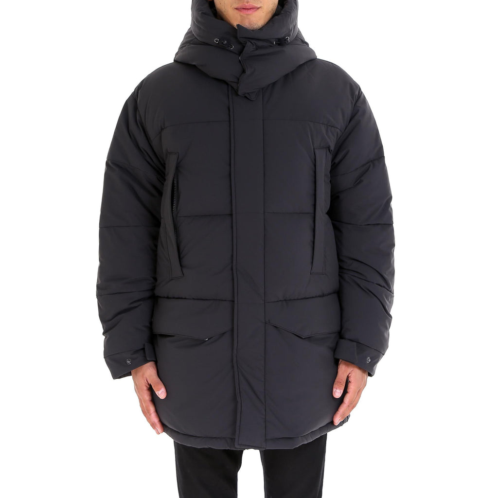 Aspesi Quilted Hooded Parka