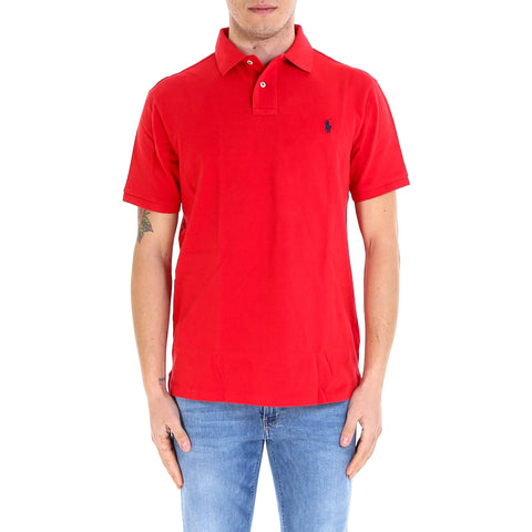 Polo Ralph Lauren Classic Logo Embroidered Polo Shirt