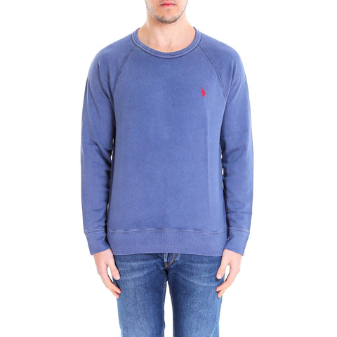 Polo Ralph Lauren Logo Embroidered Crewneck Sweater